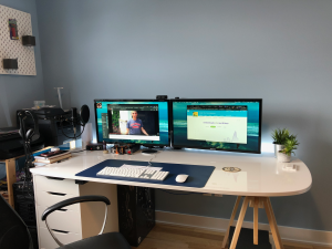 Effectively working from home - day by day dad
