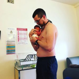 day by day dad - birth of my daughter